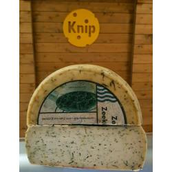 Kozí syr s morskými riasami